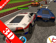 racing 3d fight