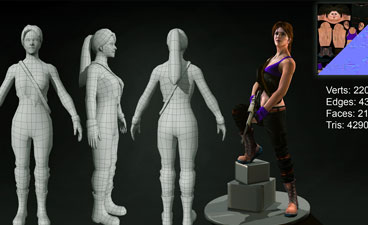 3D character