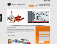 animation website template