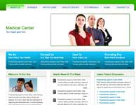 web template on medical
